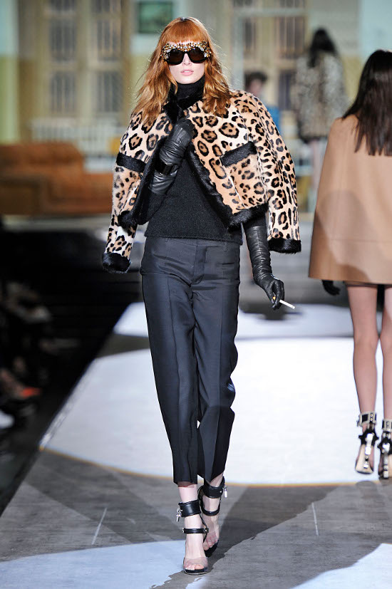 Dsquared2 Womenswear Fall Winter 2014 Milan Fashion Week February 2014
